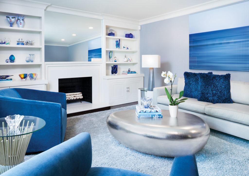 Reworking Split-Level Living Room