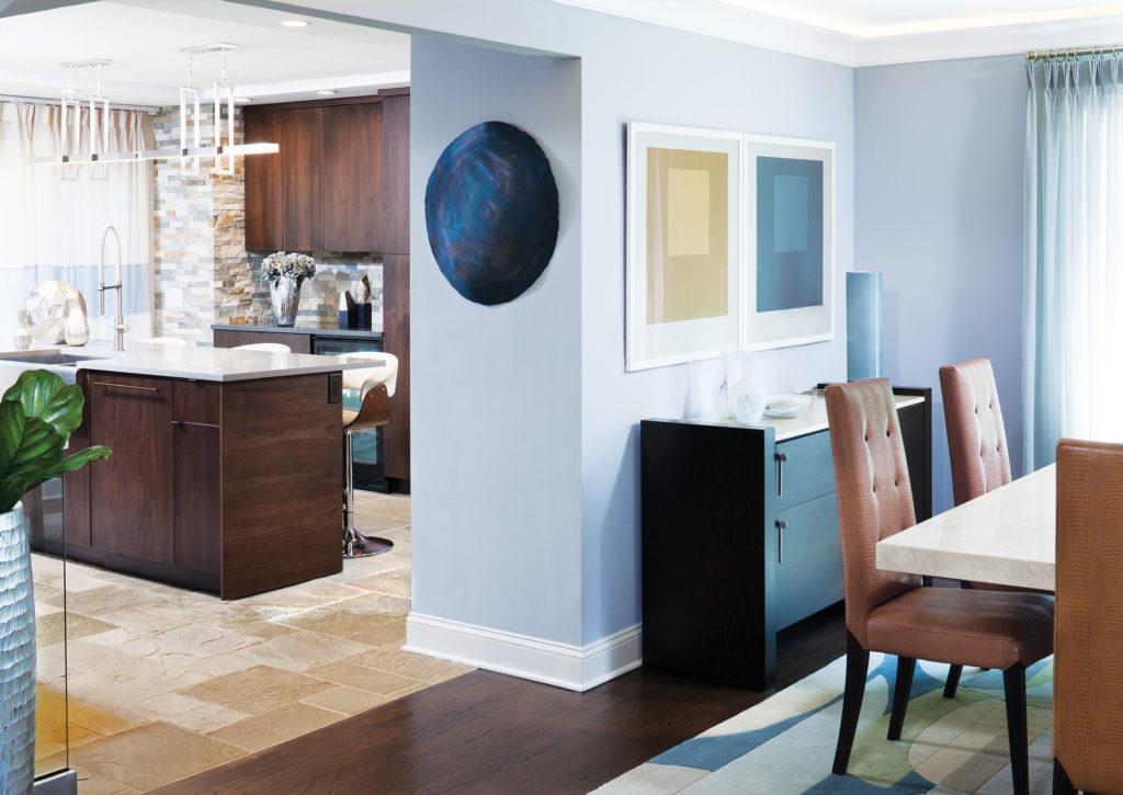 Reworking Split-Level Dining Room