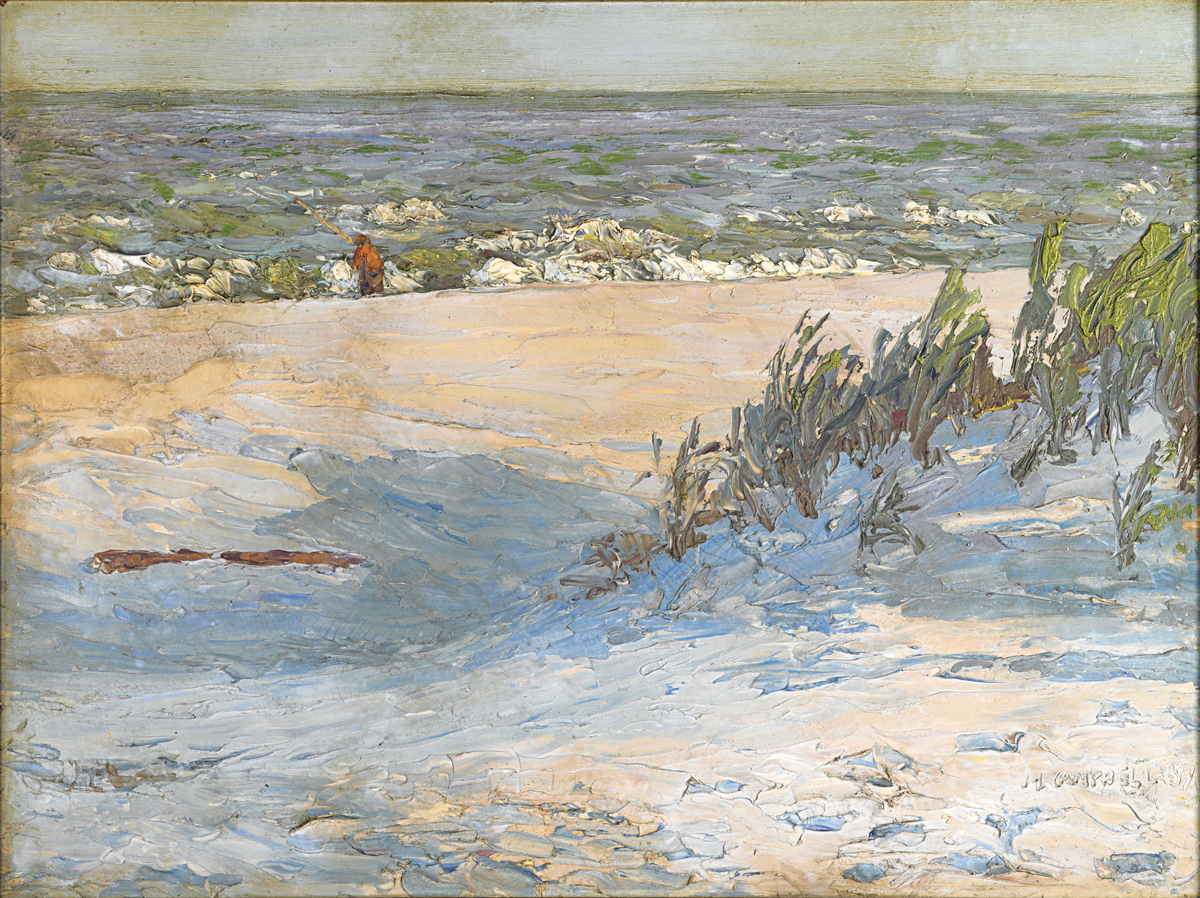 New jersey shore impressionists designnj for Lbi surf fishing report