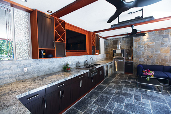 outdoor kitchen blueprints backyard kitchen ample countertop workspace is essential to wellfunctioning outdoor kitchen and sink big convenience because it limits trips the main house guidelines for great outdoor kitchen designnj