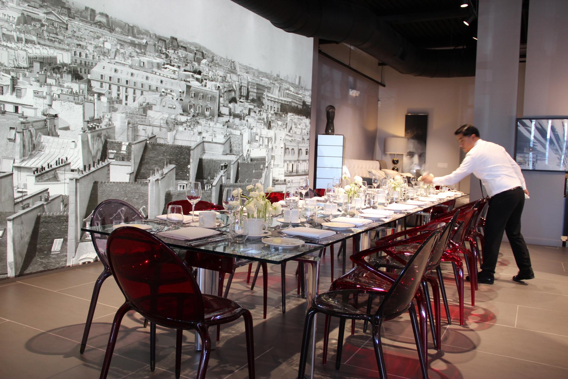 Roche Bobois Showroom Designer Lunch Designnj