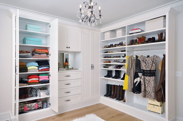 Captivating A Functional Key To Closet Design Is Being Able To Easily See And Access  Items, Says Angel Martin Of Affordable Closets Plus. In This Closet, For  Example, ...