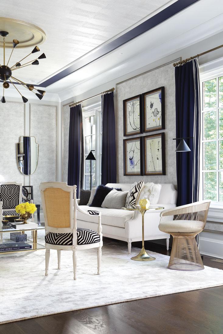 Custom Room Design Online: Designer Showhouse Of New Jersey: Living Room