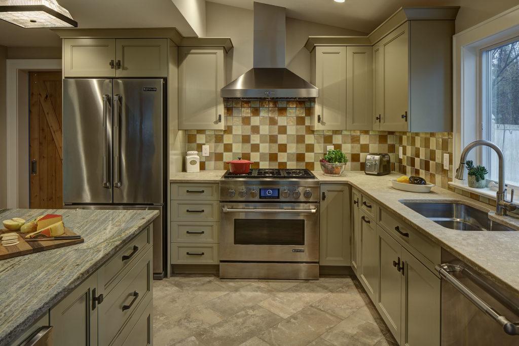 Sage Green Verhogg Kitchen