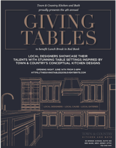 The Giving Tables @ Town & Country Kitchen and Bath | Red Bank | New Jersey | United States